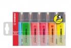 Textmarker BOSS® ORIGINAL, Etui mit 6 Stiften