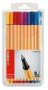 Stabilo Fineliner point 88® Etui, mit 20 Stiften