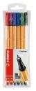 Stabilo Fineliner point 88® Etui, mit 6 Stiften