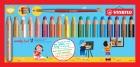 STABILO Multitalent-Stift woody 3in1 18 Stifte + 1 Spitzer + 1 Pinsel