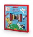 Stabilo 6 Buntstifte + Kindermalbuch - Mein erstes Ausmal-Set