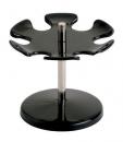 Stempelträger - drehbar, 110 x 100 x 110 mm, schwarz, für 6 Stempel
