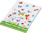 """Kladde / Notizbuch """"Schmetterlinge"""", blanko, DIN A4, 96 Blatt, 70 g/qm"""