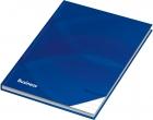 """Notizbuch / Kladde """"Business blau"""", liniert, DIN A5, 96 Blatt, 70 g/qm"""