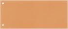 Trennstreifen - 190 g/qm Karton, orange, 100 Stück