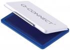Q-Connect Metall-Stempelkissen Größe 2 - blau