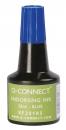 Q-Connect Stempelfarbe - ohne Öl, blau