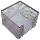 Zettelbox Metalldraht - silber