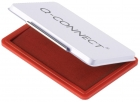 Q-Connect Stempelkissen 9 x 5,5cm rot