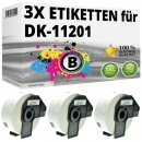3x Alternativ Brother Adress-Etiketten DK-11201 Label