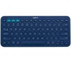 Logitech Multi-Device Tastatur K380 Bluetooth Blau