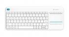 Logitech Tastatur K400 Plus Kabellos Weiß
