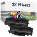 2x Alternativ Philips Toner PFA-822 Schwarz