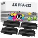 4x Alternativ Philips Toner PFA-822 Schwarz