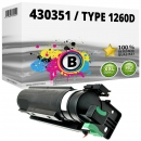 Alternativ Ricoh Toner 430351 / Type 1260D Schwarz