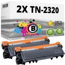 2x Alternativ Brother Toner TN-2320 Schwarz Set