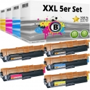 Alternativ Brother Toner 5er Set TN242BK+TN246C+TN246M+TN246Y