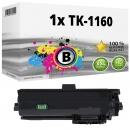 Alternativ Kyocera Toner TK-1160 / 1T02RY0NL0  Schwarz