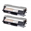 Alternativ Brother Set 2x Toner TN-423BK Schwarz