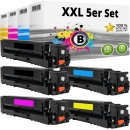 Set 5x Alternativ Canon Toner 054 H