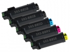 Set 5x Alternativ Dell Toner 625/825/2825 Mehrfarbig