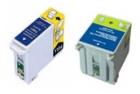 Alternativ Epson Patronen Set T007 T008 Mehrfarbig