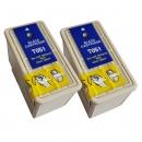 Alternativ Epson Patronen Doppelpack T0501 Schwarz