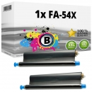 2x Alternativ Panasonic Thermo-Transfer-Rolle KX-FA54X