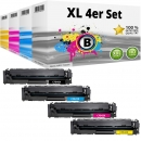 Set 4x Alternativ HP Toner 203X CF540X CF541X CF542X CF543X