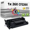 Alternativ HP Toner 26X CF226X Schwarz