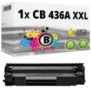 Alternativ HP Toner 36A CB436A XXL Schwarz