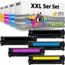 Alternativ HP Toner 304A / CC53X 5er Sparset