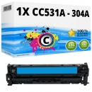 Alternativ HP Toner 304A CC531A Cyan
