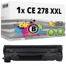 Alternativ HP Toner CE 278 A XXL Schwarz