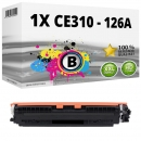 Alternativ HP Toner 126A CE310A Schwarz