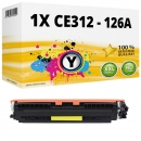 Alternativ HP Toner 126A CE312A Gelb