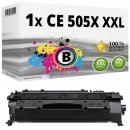 Alternativ HP Toner CE 505X XXL Schwarz