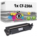 Alternativ HP Toner 30A / CF230A Schwarz