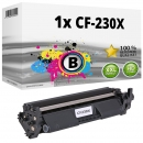 Alternativ HP Toner 30X / CF230X Schwarz