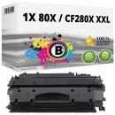 Alternativ HP Toner 80X / CF280X XXL Schwarz