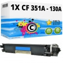 Alternativ HP Toner CF351A / 130A Cyan