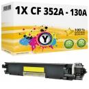 Alternativ HP Toner CF352A / 130A Gelb