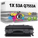 Alternativ HP Toner 53A Q7553A Schwarz