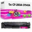 Alternativ Toner 203A CF543A Magenta