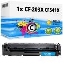 Alternativ Toner 203X CF541X Cyan