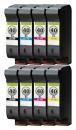 Alternativ HP Set 8x Patrone 40 Mehrfarbig