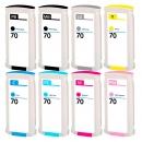 Alternativ HP Set 8x Druckerpatrone 70 Mehrfarbig