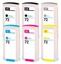 Alternativ HP Set 6x Durckerpatrone 72 Mehrfarbig