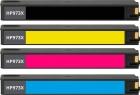 4x Refill Druckerpatronen HP 973X im Set Mehrfarbig