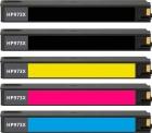 5x Refill Druckerpatronen HP 973X im Set Mehrfarbig